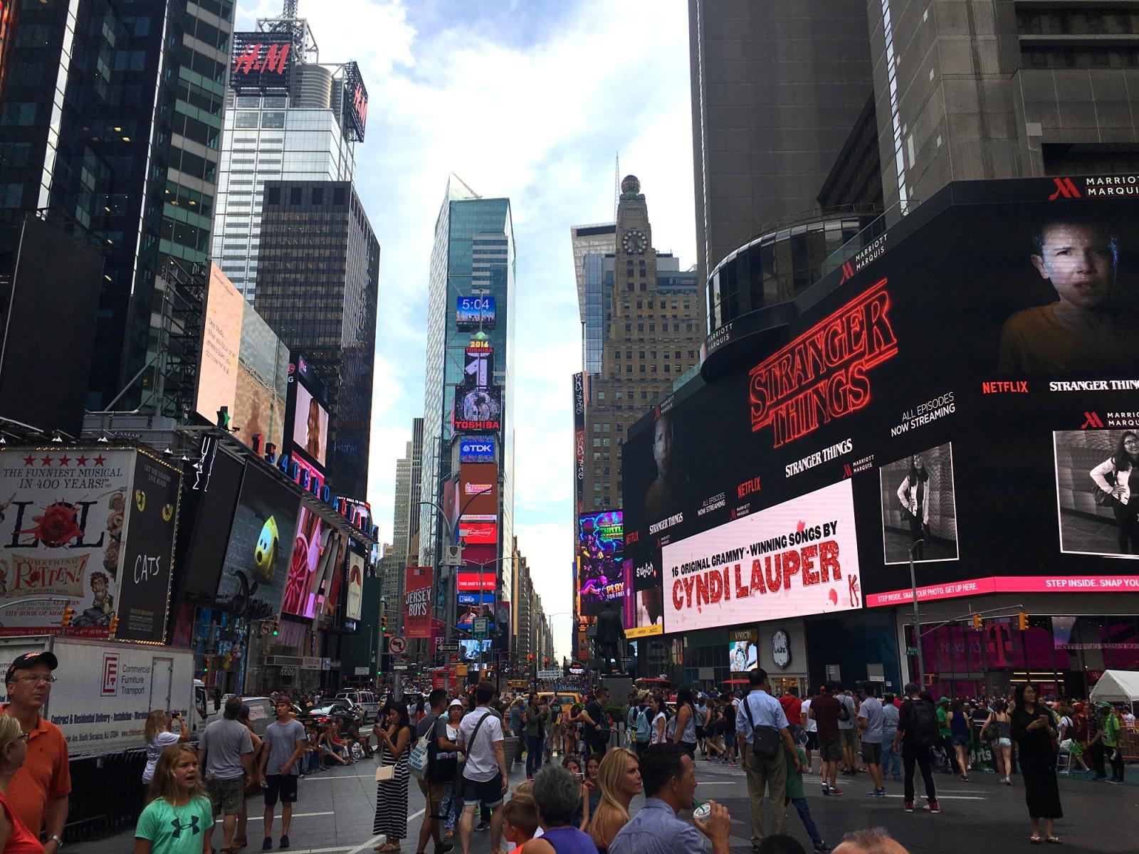 Cosas que ver en Nueva York: El Times Square