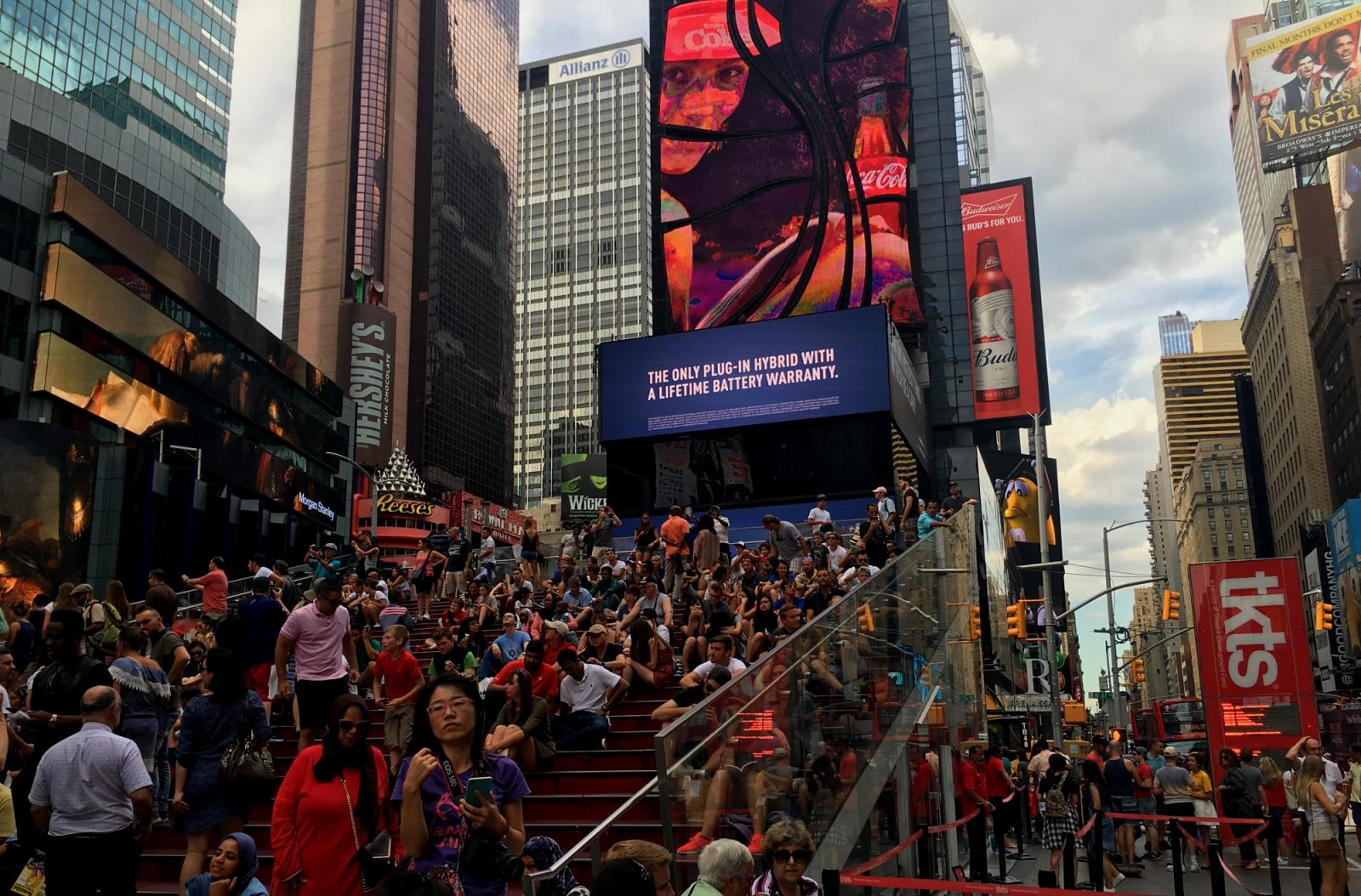 Tickets para musicales en Times Square