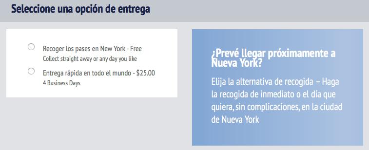Comprar New York Pass