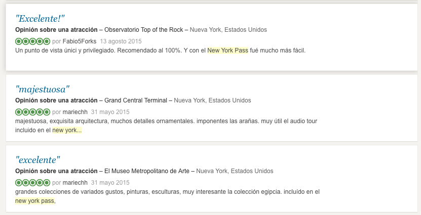 opiniones new york pass tripadvisor