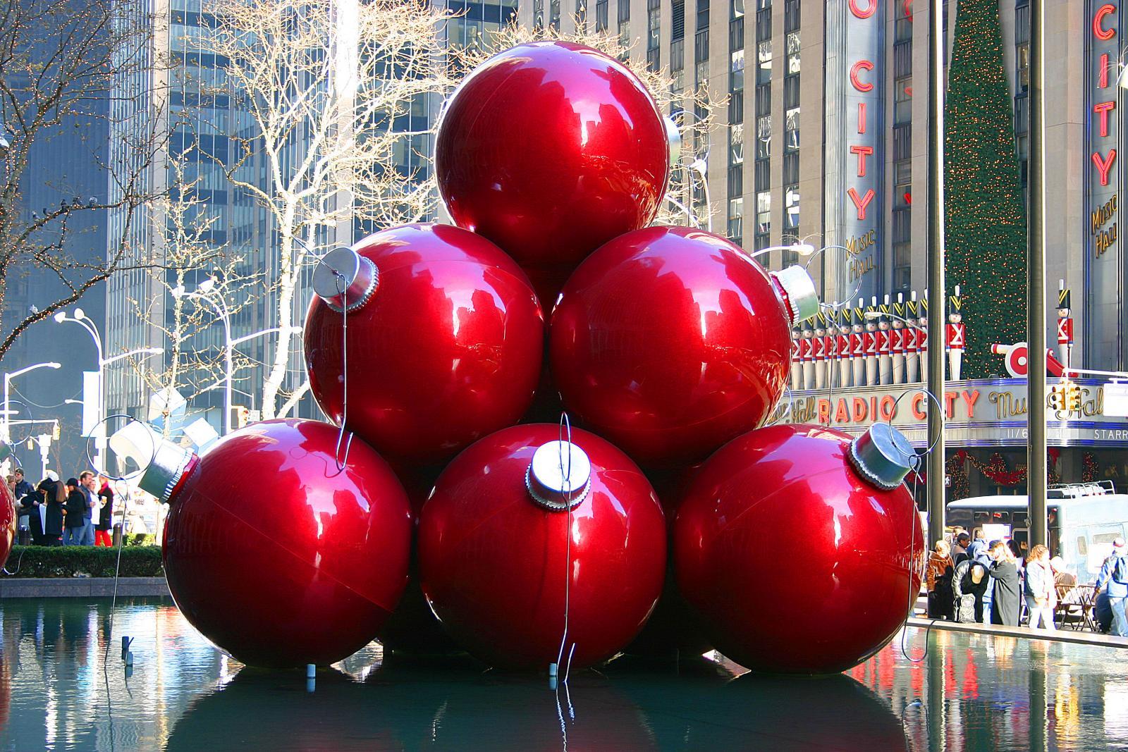 new york ball @ christmas