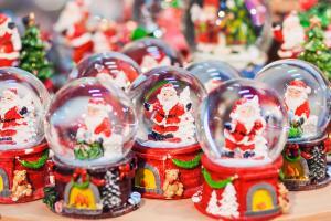 Mercado de Navidad en Nueva York