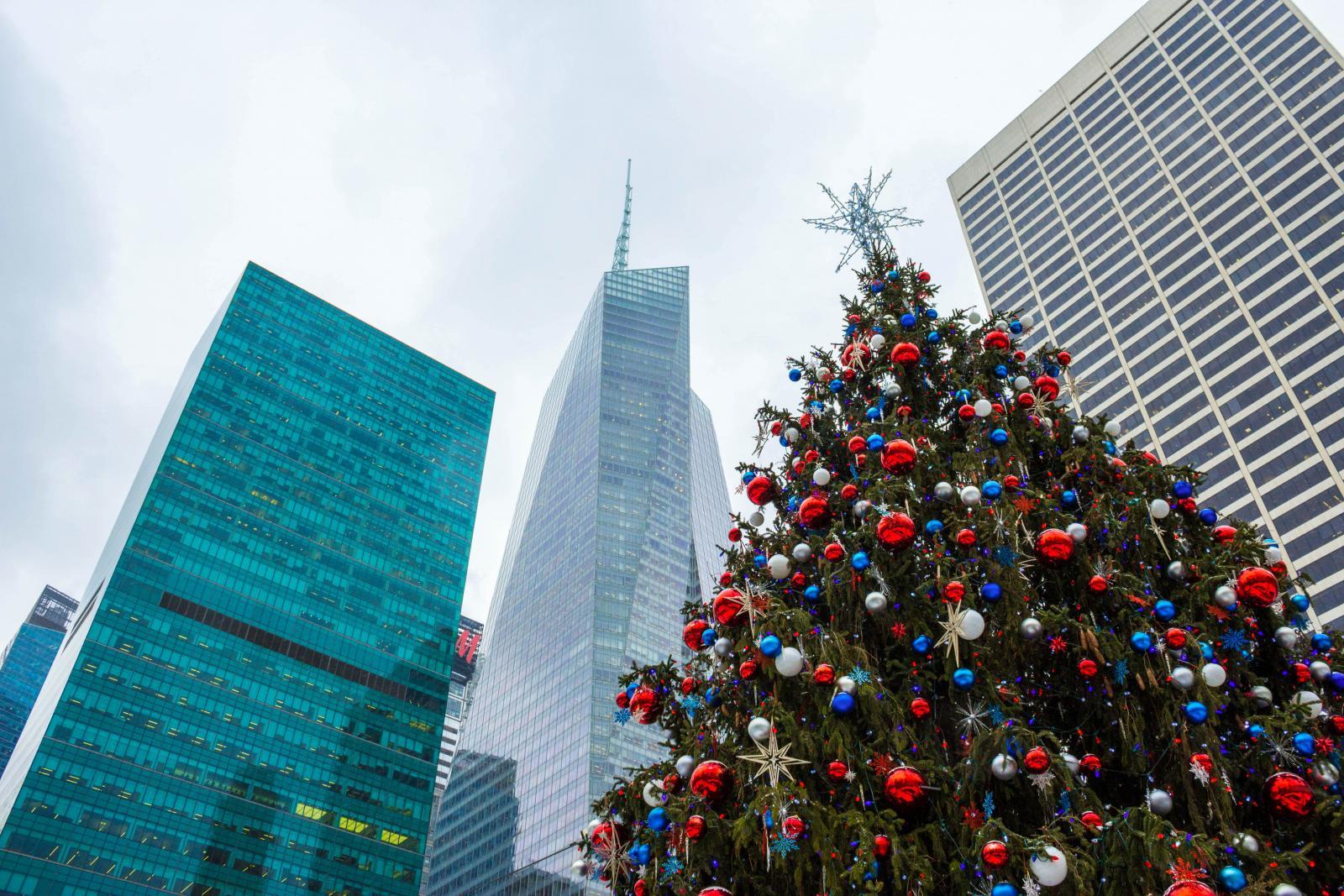 Árbol de Navidad en Nueva York