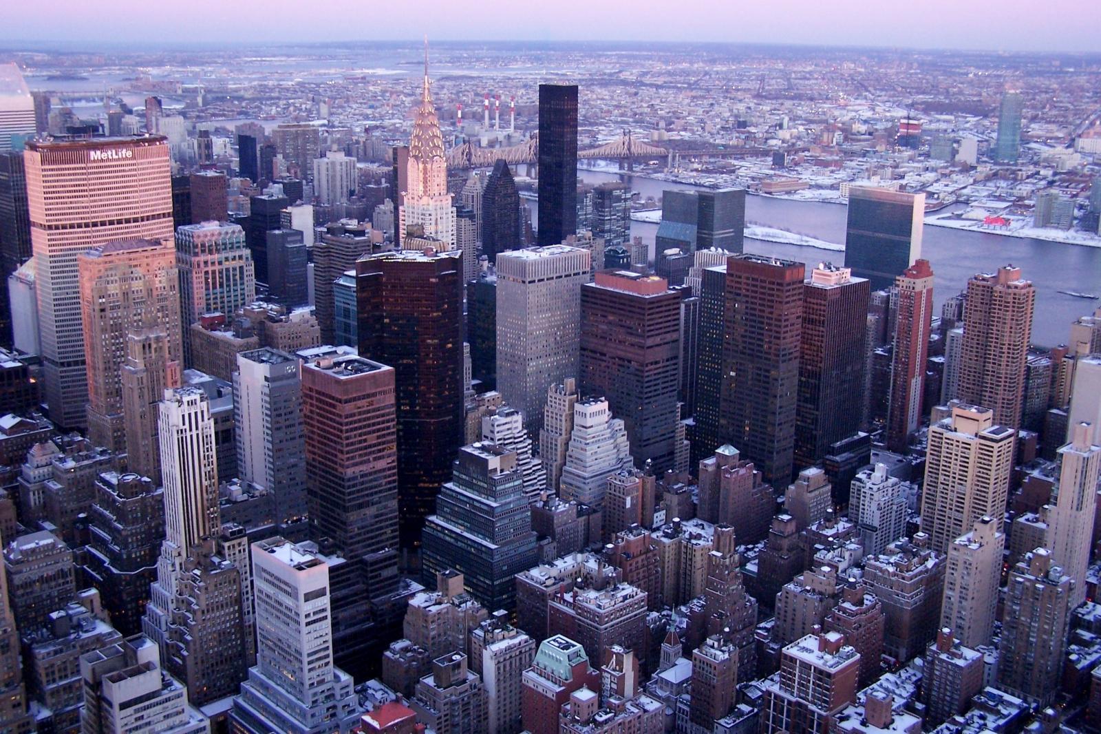 Manhattan en hiver