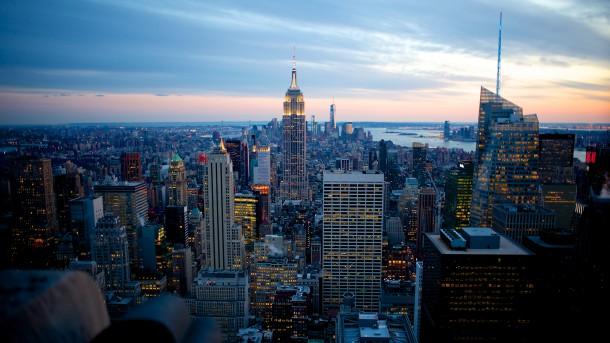 vista aerea de nueva york
