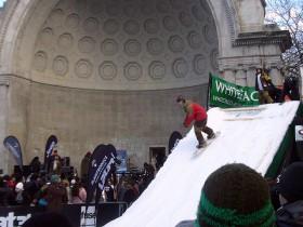 snowboard en central park