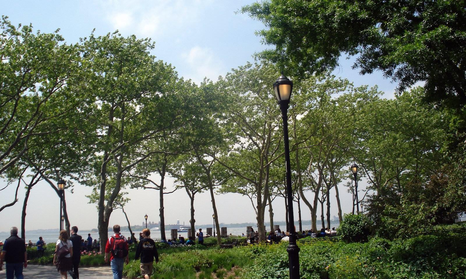 Battery Park: parques de nueva york