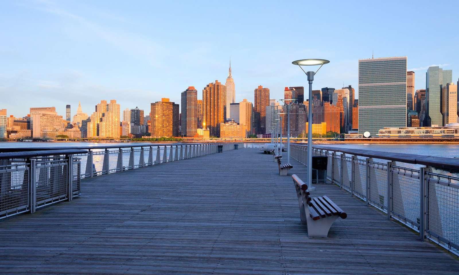 Gantry Plaza State Park: amor en nueva york