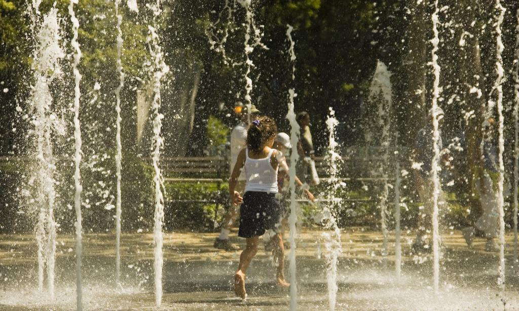 Nueva york con niños: Parque Tribeca