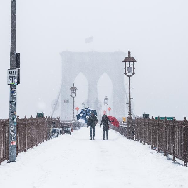 Las mejores fotos de la última tormenta de nieve en Nueva York