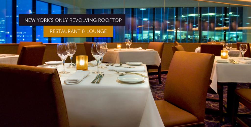 The View restaurant Nueva York