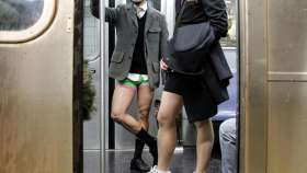 """no pants subway day"" en nueva york"