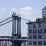 El Manhattan Bridge sobre el East River de Nueva York