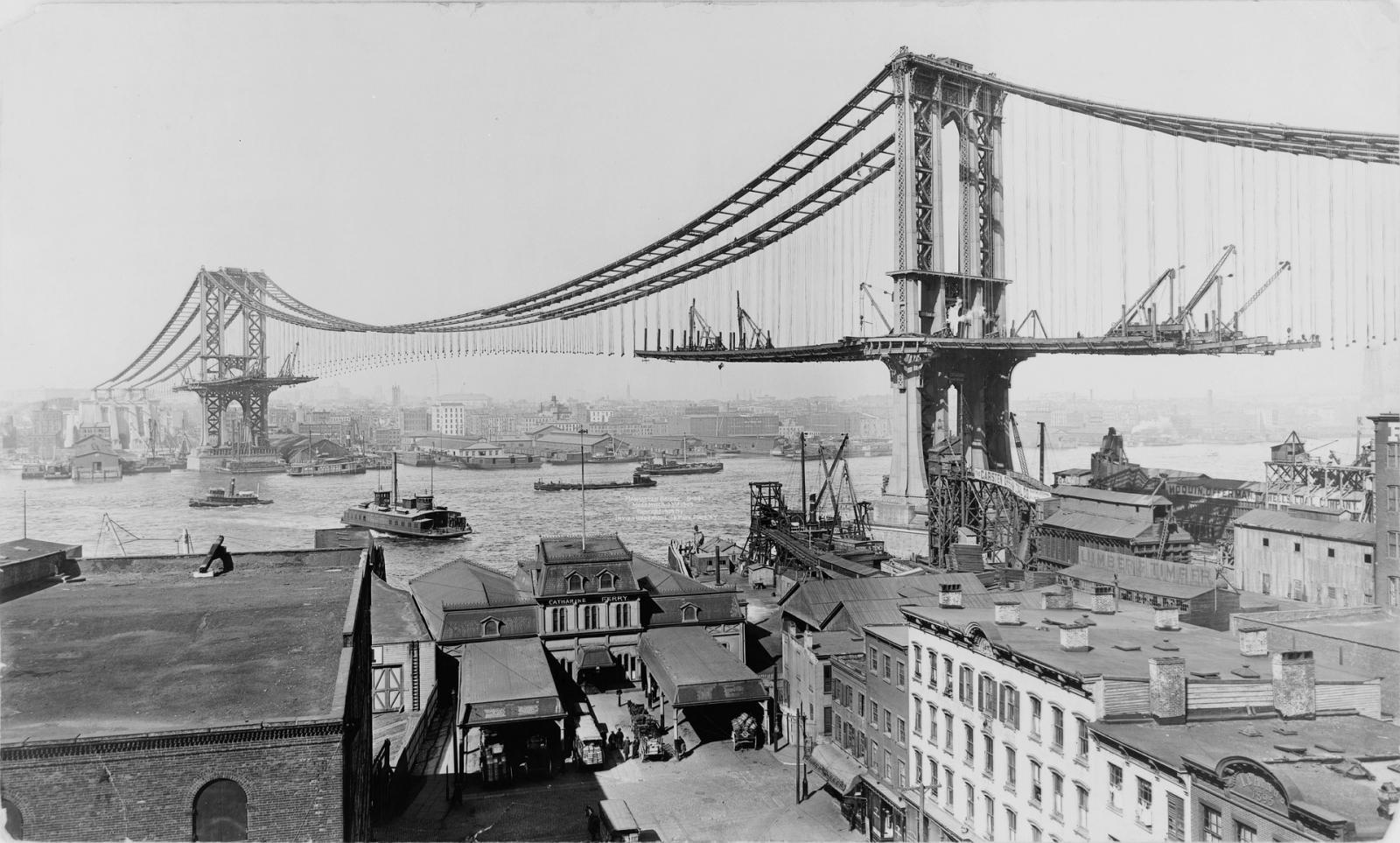 Puente de Manhattan, Dumbo en Brooklyn, Nueva York