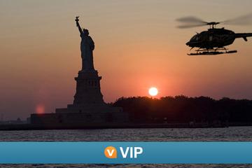 Vuelo en helicoptero en Nurva York: tour vip por la noche
