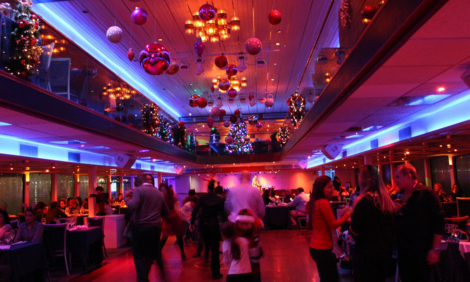 christmas dinner cruise new york