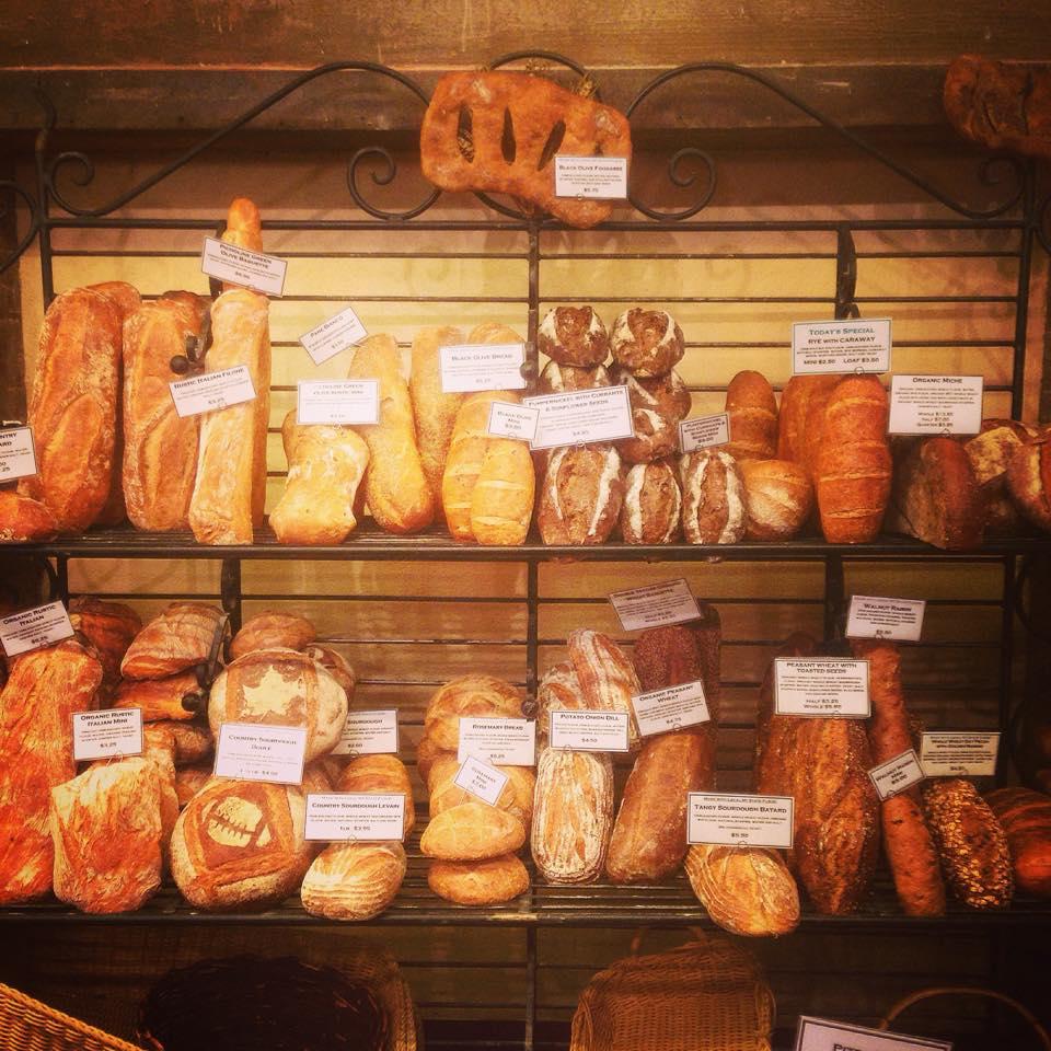 Pan en el mercado de Chelsea