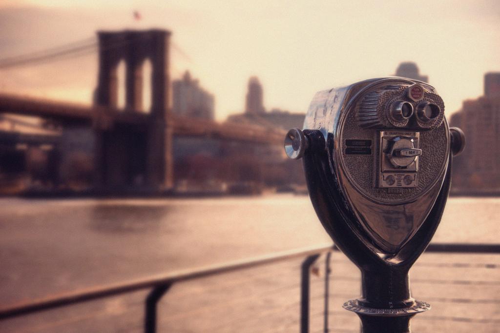 Puente de Brooklyn desde el Brooklyn Park