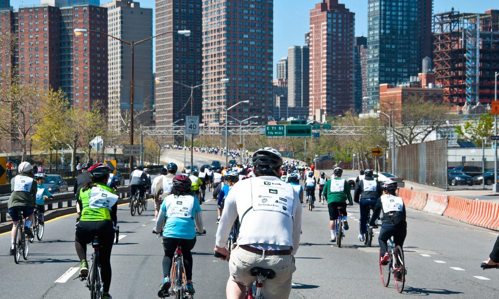 Mayo en Nueva york: bicicleta