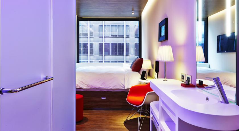 CitizenM: genial hotel en Times Square