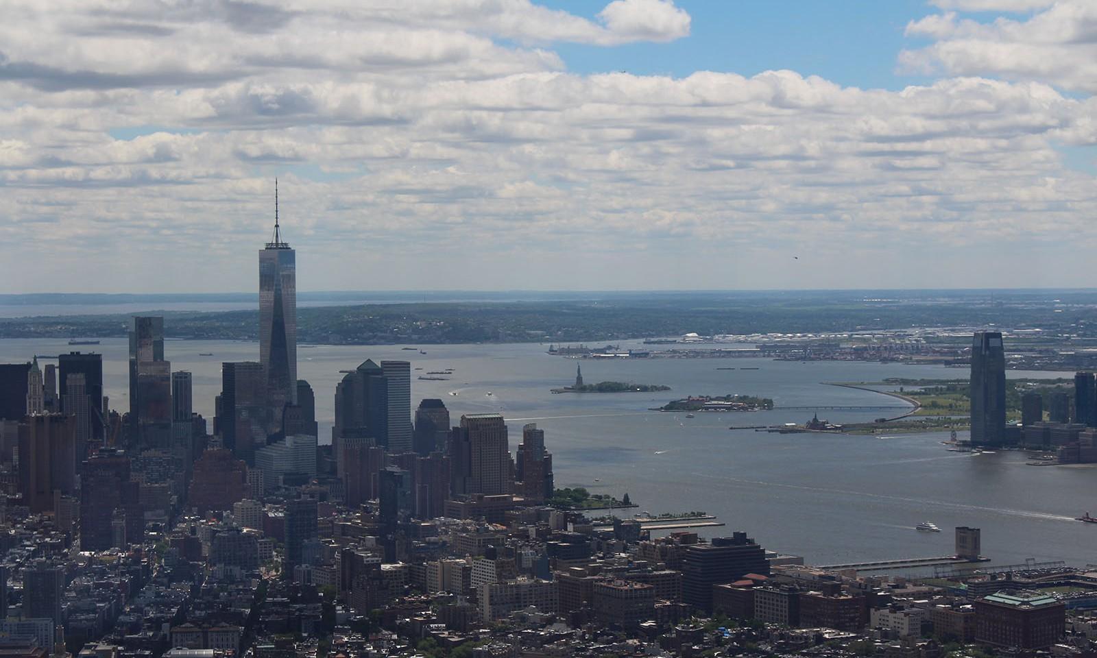 Vistas desde el piso 102 del Edificio Empire State