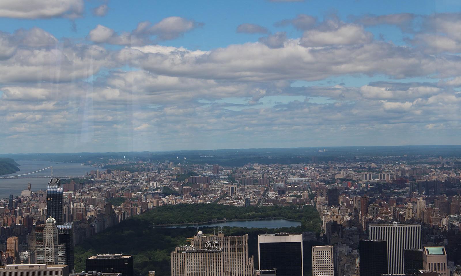 Vistas desde la planta 102 del Empire State Building