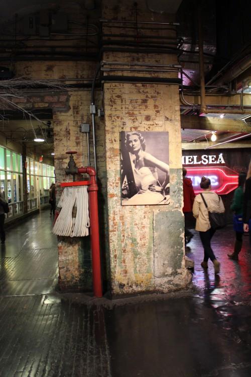 Detalle del Chelsea Market de Nueva York