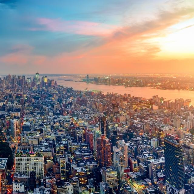 ¿Desde dónde se ve el mejor atardecer en Nueva York?
