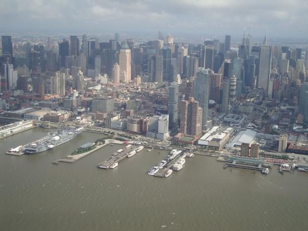 Fotos de Erik: vuelo en helicóptero en Nueva York