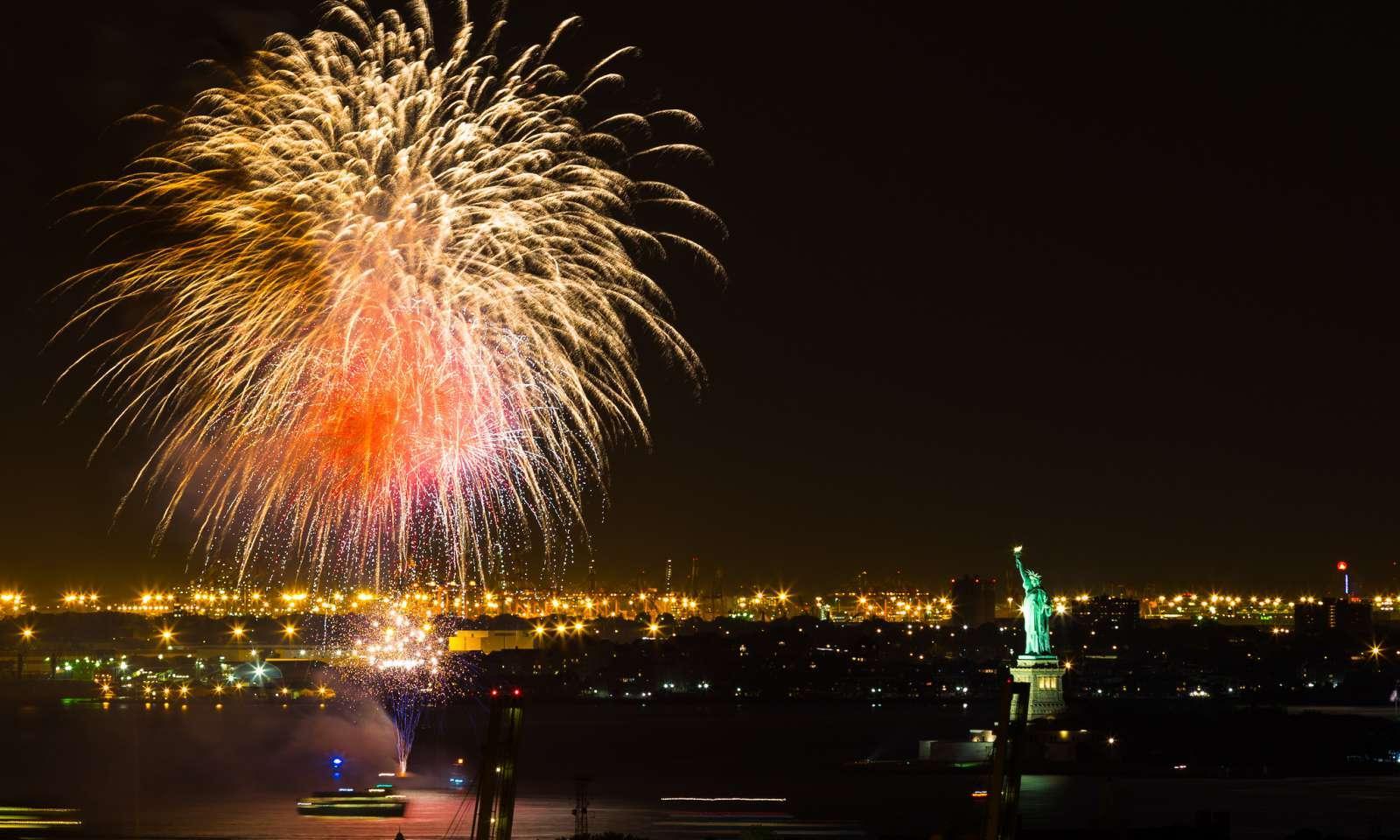 Nochevieja en Nueva York: Castillo de fuegos