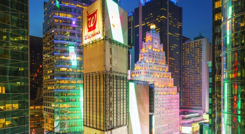 Knickerbocker: Hoteles en Times Square