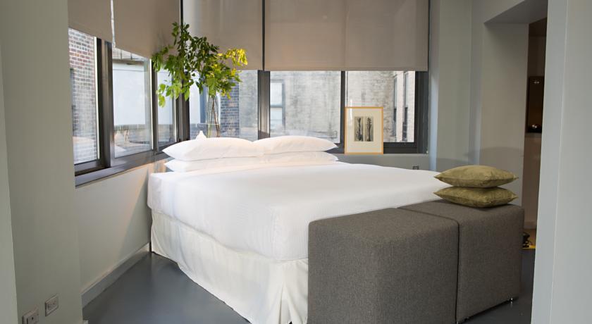 Habitación de hotel en Times Square