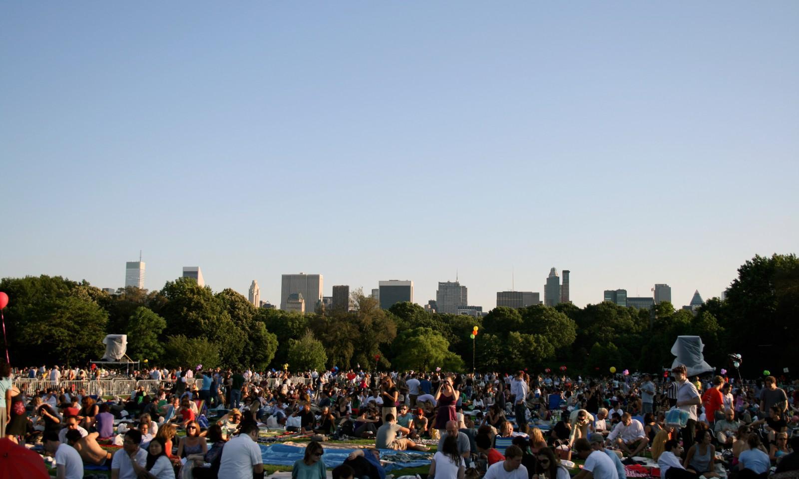 Conciertos en Central Park