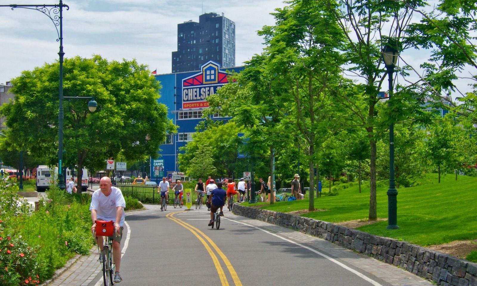 Sitios que visitar en Nueva York: Hudson River Park