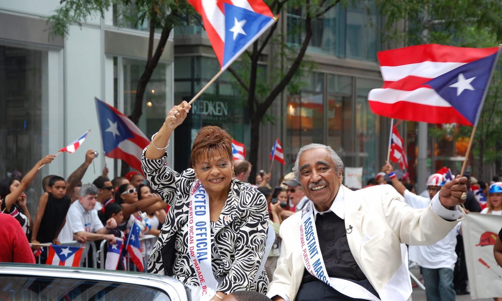 Desfile del día de Puerto Rico en Nueva York