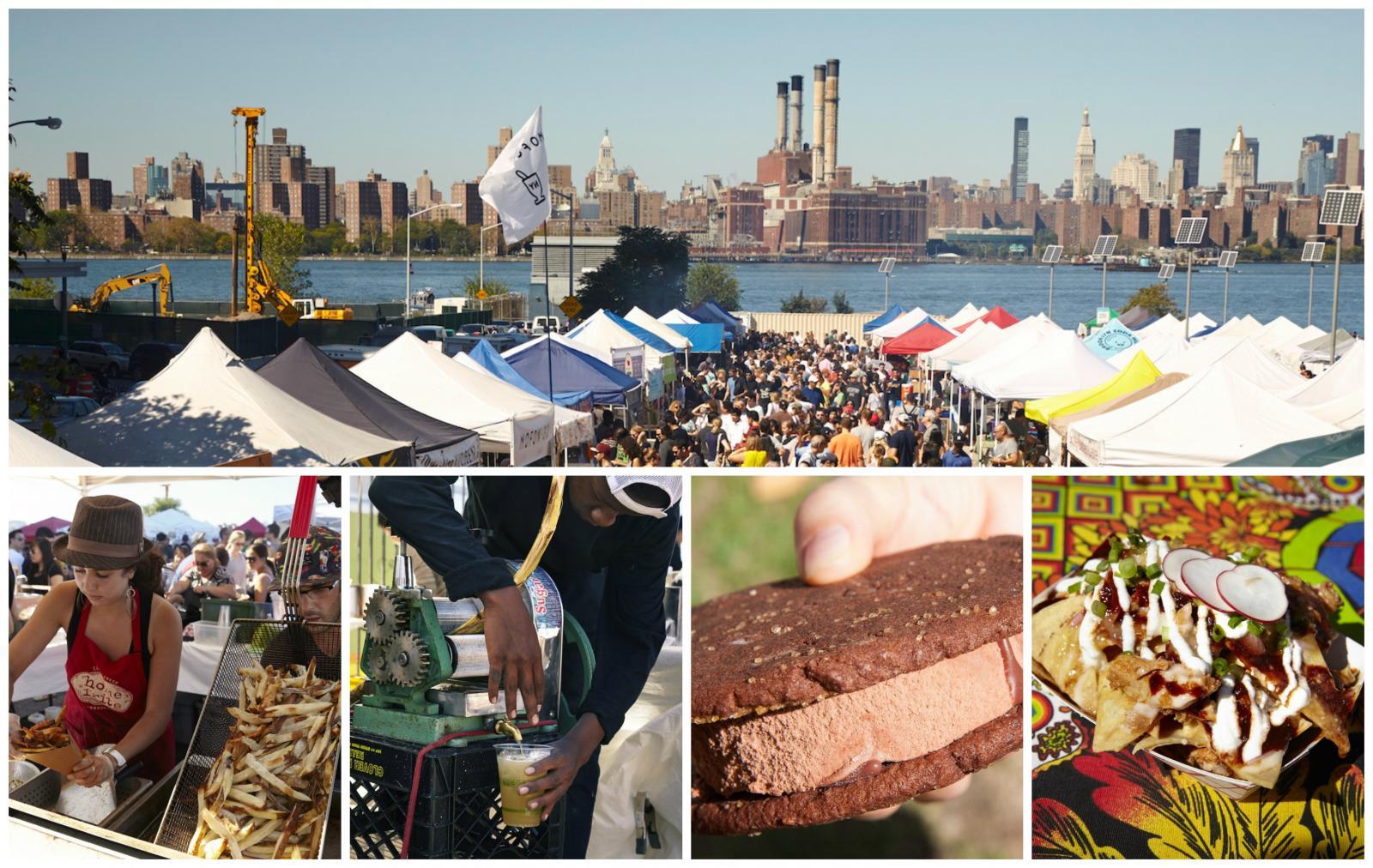 Lugares que ver en Nueva York: Smorgasburg Food Market