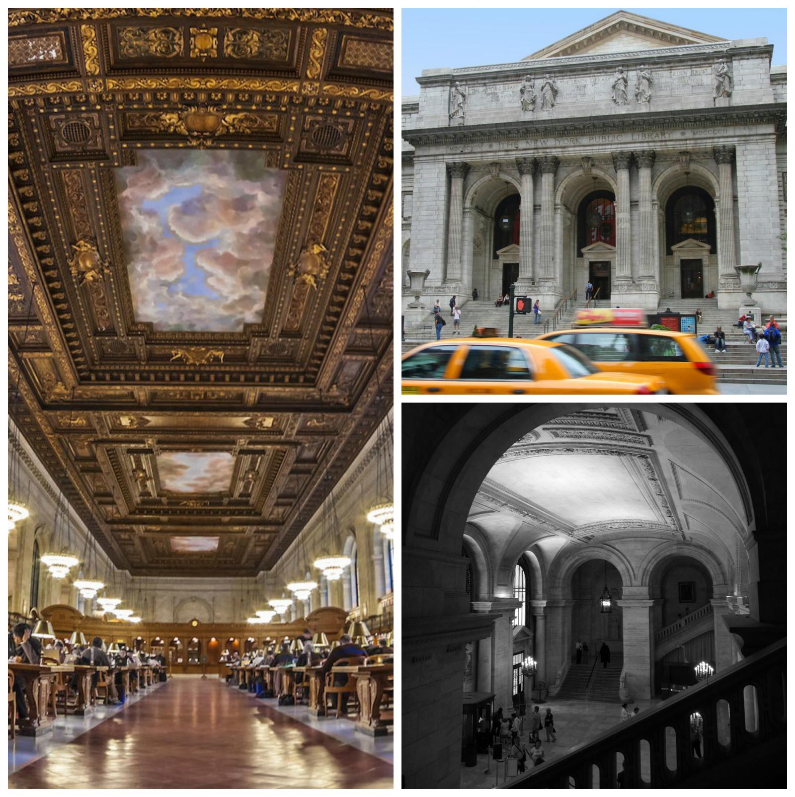 Lugares que visitar en Nueva York: Biblioteca pública de Nueva York