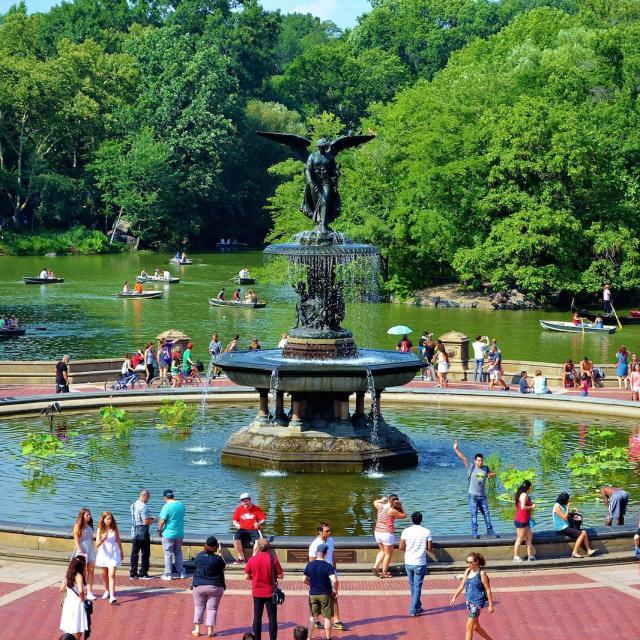 El Central Park en verano