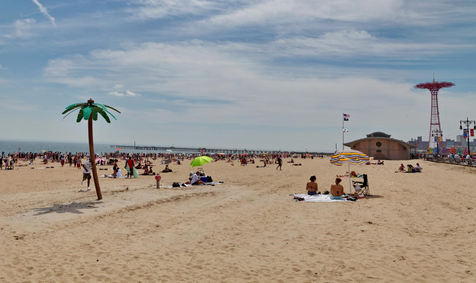 Playa Nueva York en Coney Island