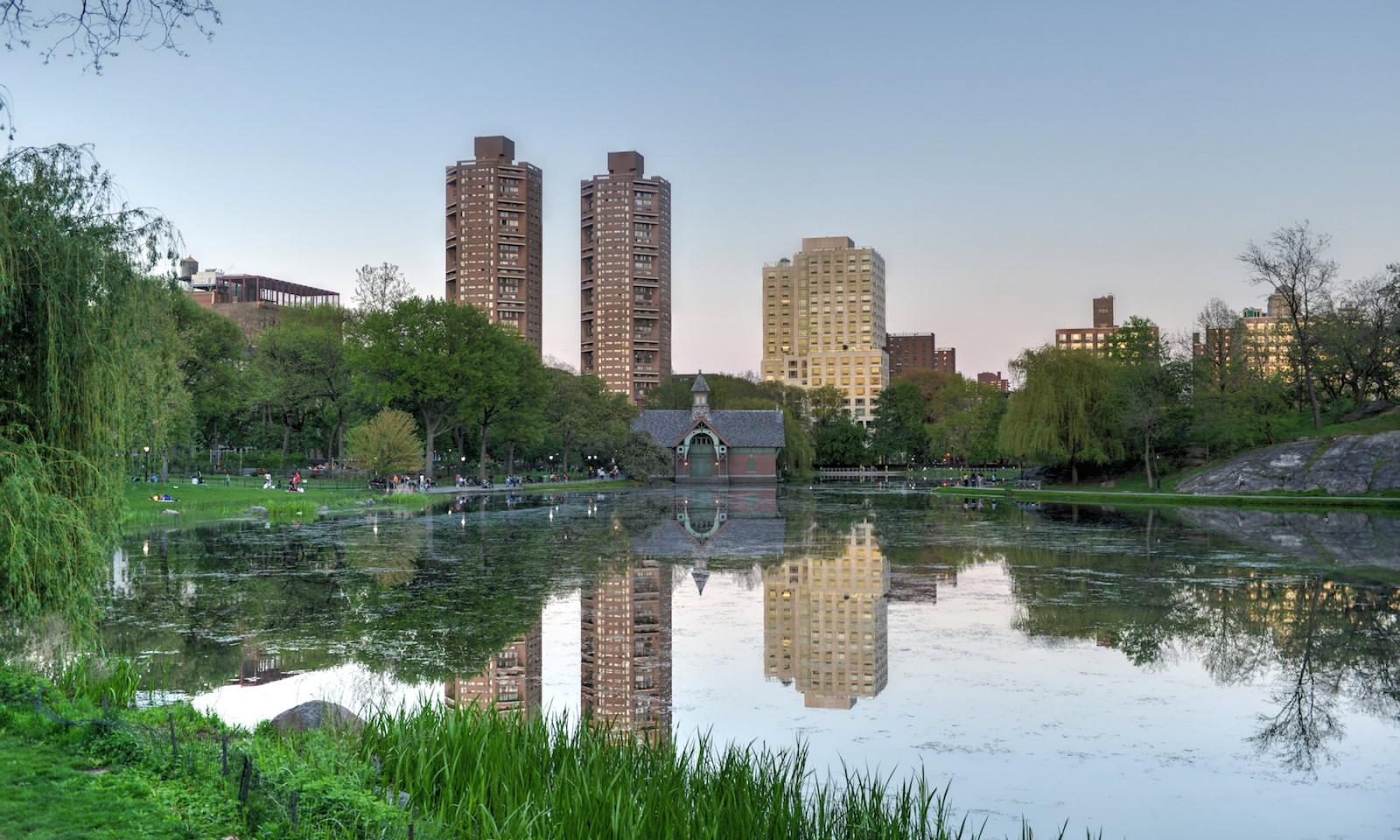 Lago Harlem en el Central Park