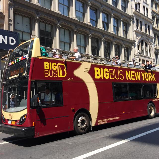 Hop on Hop off New York: El bus turístico de Nueva York
