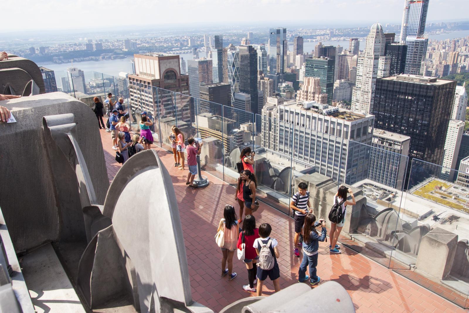 El mirador del Rockefeller Center