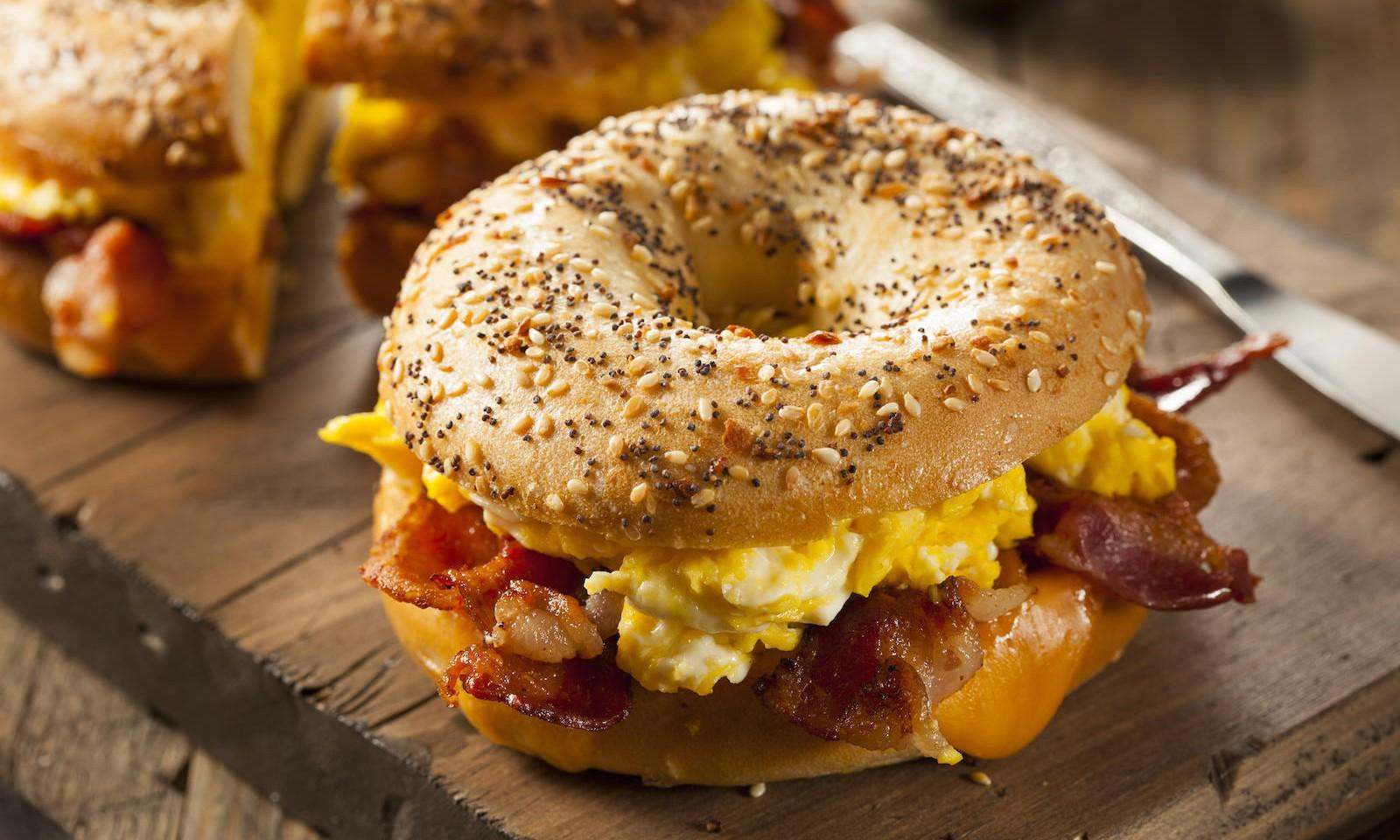 desayunos: los mejores bagels de nueva york