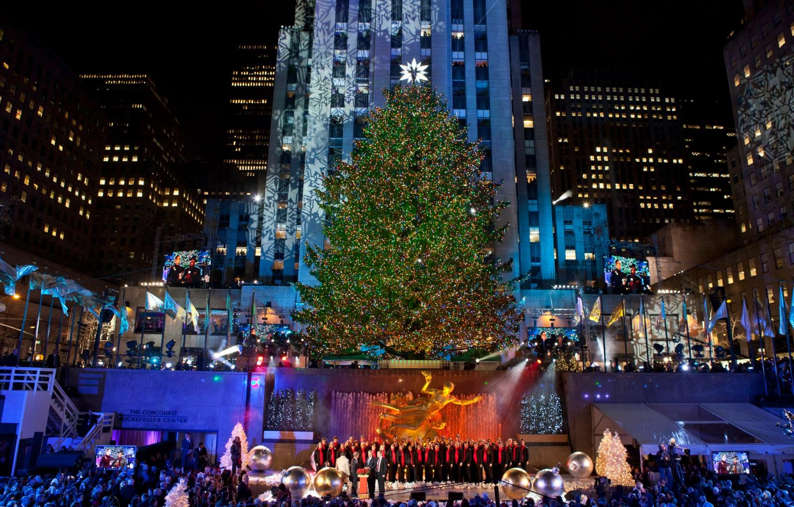 Arbol rockefeller Center, Nueva York