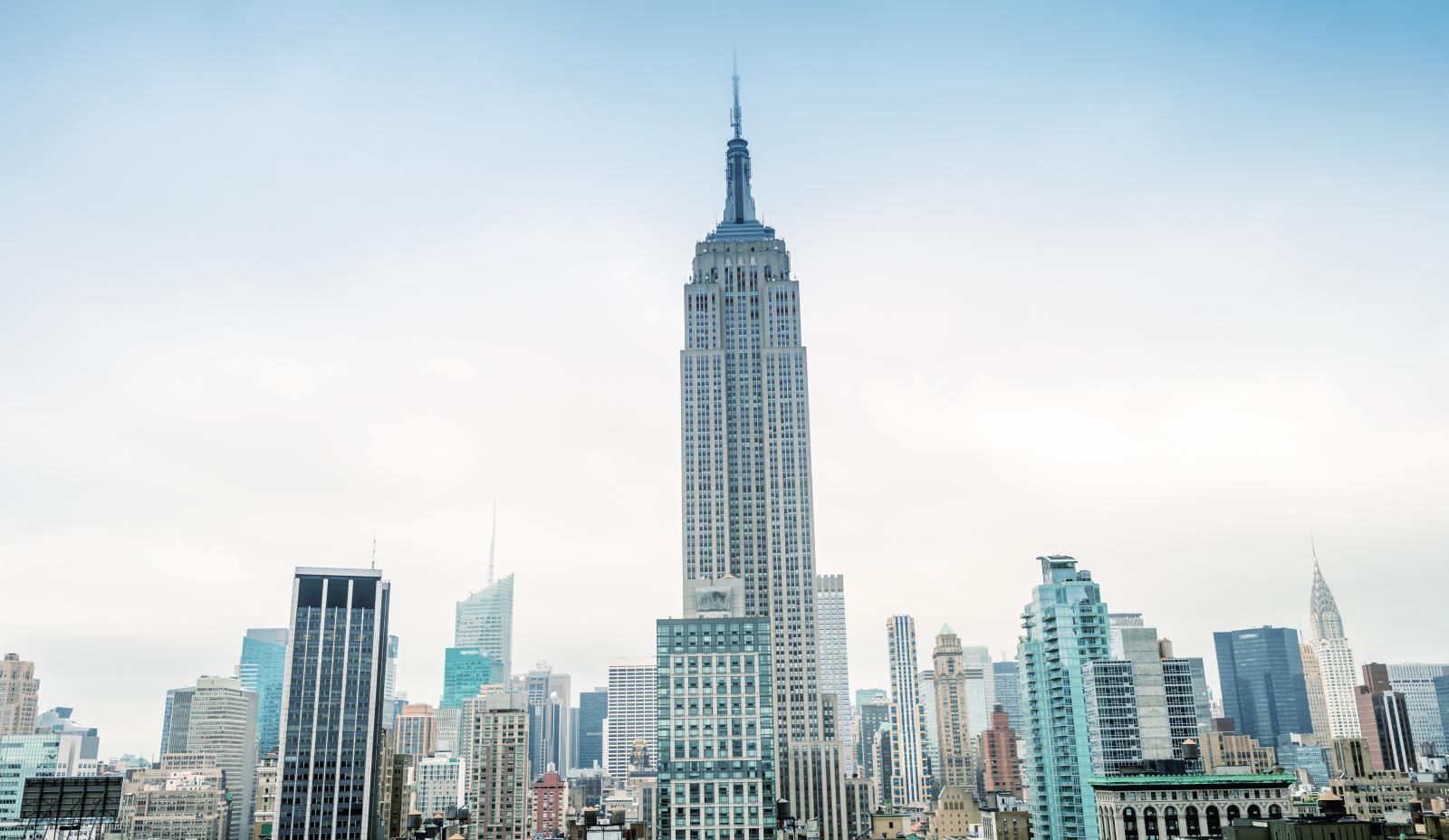 El Edificio Empire State en el Midtown de Nueva York