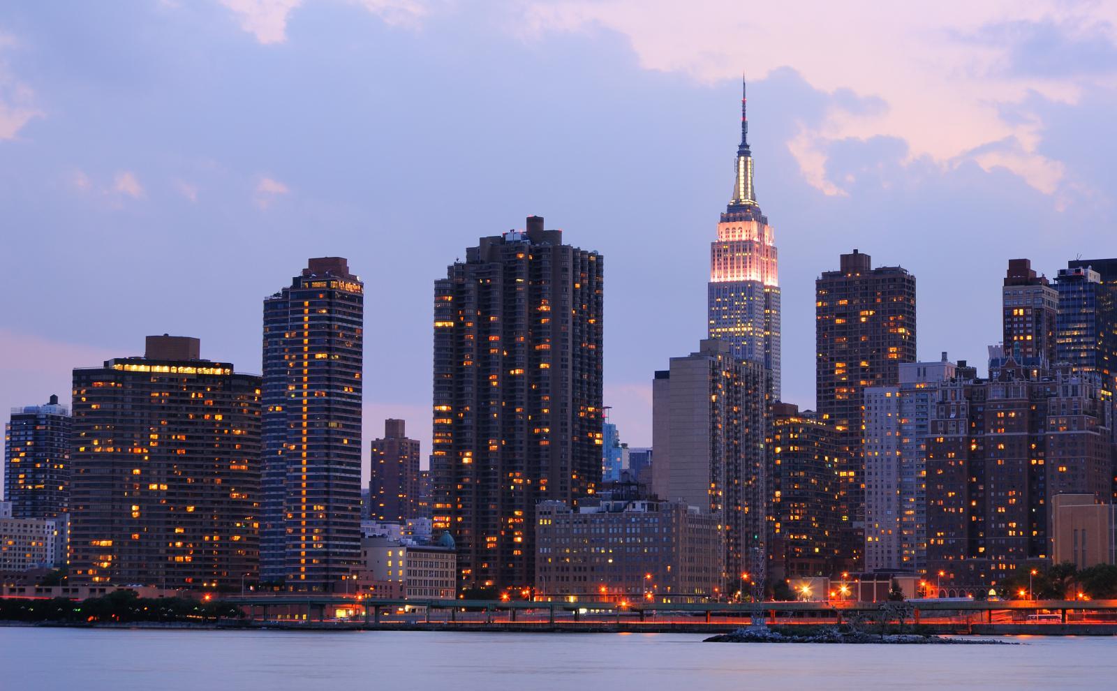 Tour nocturno por Nueva York: Vista de Manhattan desde Brooklyn