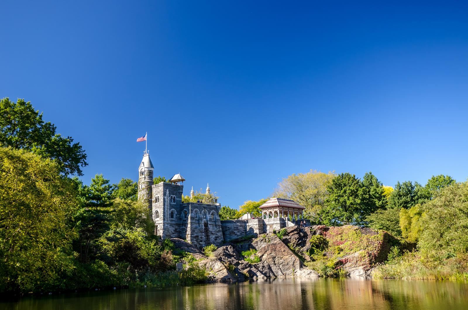 Belvedere Castle in central park in Newyork city, New York City, USA