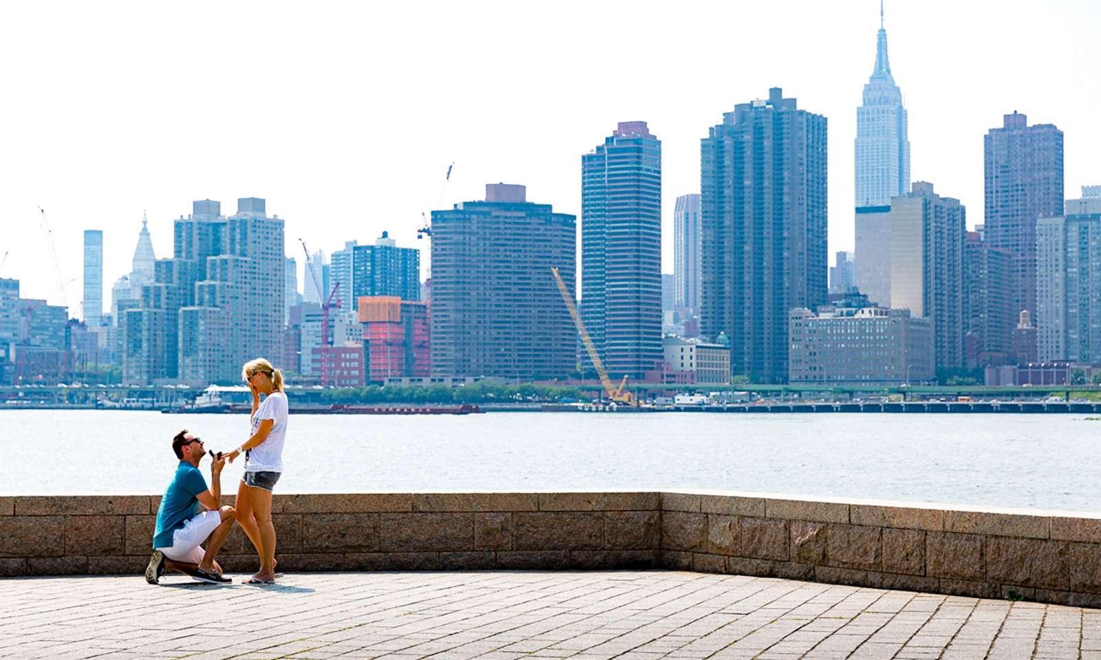 Petición de matrimonio new york