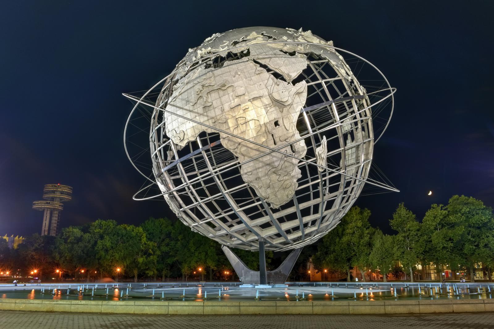 Contrastes de Nueva York: Corona Park en Queens