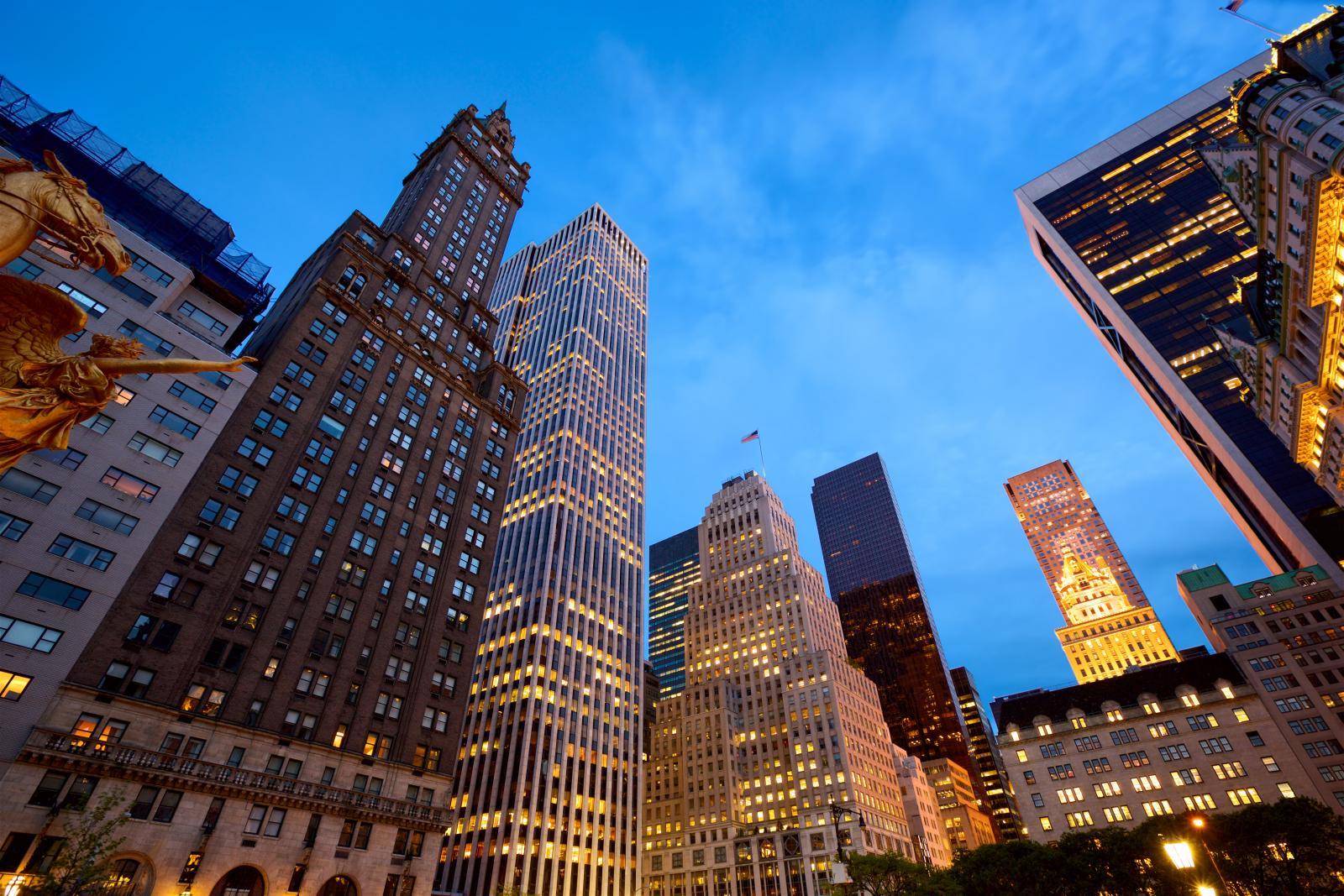 Tour guiado en autobus por Nueva York a la noche